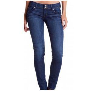 Hudson Collin Flap Skinny Jeans York Wash sz 26 H2